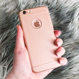 Tonal Stripe Soft iPhone Case